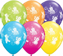 Cute & Cuddly Bears - 11 Inch Balloons 25pcs